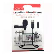Микрофон Lavalier Type-C GL-140 (Черный)