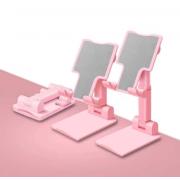 Подставка под телефон и планшет (Розовая)