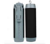 Портативная колонка Wireless + селфи палка + Powerbank 3 в 1 (Черная)