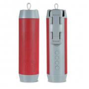 Портативная колонка Wireless + селфи палка + Powerbank 3 в 1 (Красная)