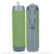 Портативная колонка Wireless + селфи палка + Powerbank 3 в 1 (Зеленая)