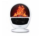 Портативный электрообогреватель Flame Heater (Белый)