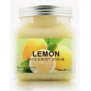 Скраб для тела и лица Pretty Cowry LEMON с экстрактом Лимона 350мл