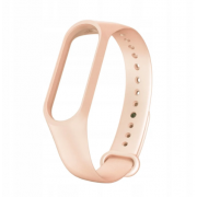 Сменный браслет Xiaomi Mi Band 5 однотонный (Бежевый)
