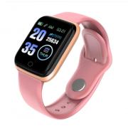 Спортивные смарт-часы M6 (Розовые)