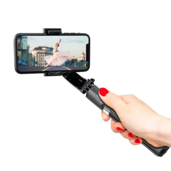 Стабилизатор для смартфонов Gimbal Stabilizer L08 4 в 1 (Черный)