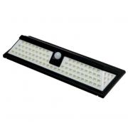 Светильник уличный с датчиком движения и солнечной батареей 18 Вт 90 LED 6500К (Черный)