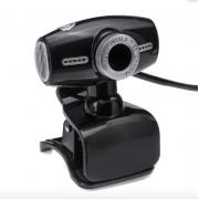 Веб-камера Z08 (Черно-серебряная)
