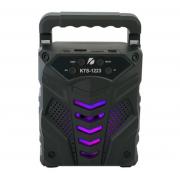 4-дюймовый светодиодный динамик с держателем для смартфона KTS-1223 (Черный)