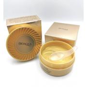 Гидрогелевые патчи для глаз с частицами золота BIOAQUA Hydrating Moisturizing Eye Mask, 60 шт