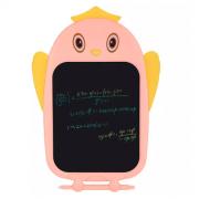 Планшет для рисования графический Голубой Сова (Розовый)
