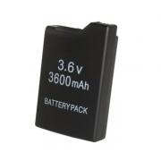 Аккумулятор для игровой приставки PSP 1000 Slim Replacement Battery Pack 3.6v 3600 mah (Черный)