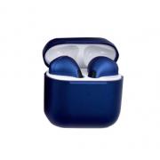 Bluetooth наушники TWS Pro4 Macaroon (Синие)