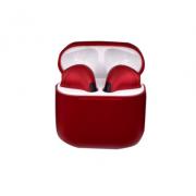 Bluetooth наушники TWS Pro4 Macaroon (Красные)