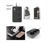 Cетевой фильтр (удлинитель) Ldnio Power Socket 3 розетки 6 USB SC3604