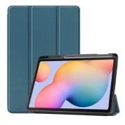 Чехол для планшета Samsung Galaxy Tab S6 Lite 10.4 P610 P615 (Сине-зеленый)
