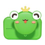 Детская цифровая мини камера фотоаппарат Лягушка (Зеленый)