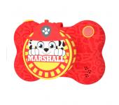 Детская цифровая мини камера фотоаппарат с принтом из мультфильма Щенячий патруль (Красный)