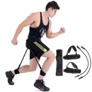 Фитнес-приспособление для тренировки прыжков Vertical Jump 50 pcs (Черное)