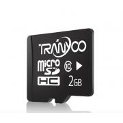 Карта памяти TranYoo C10 Micro SD класс 10, 2 Гб (Черная)