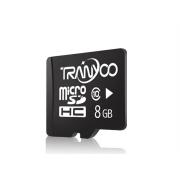 Карта памяти TranYoo C10 Micro SD класс 10, 8 Гб (Черная)