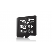 Карта памяти TranYoo C10 Micro SD класс 10, 16 Гб (Черная)