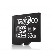 Карта памяти TranYoo C10 Micro SD класс 10, 32 Гб (Черная)