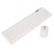 Набор беспроводная клавиатура и мышь Keyboard К06 (Белый)