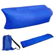 Надувной диван-лежак (Синий)