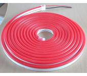 Неоновая светодиодная лента 5 метров, 12 Вольт (Красная)