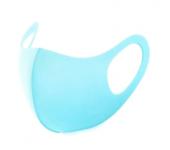 Неопреновая многоразовая маска Fashion Mask (Голубая)