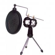 Поп-фильтр для микрофона F-8 (черный)