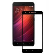 Защитное стекло для Xiaomi Redmi Note 4/4X (Черное)