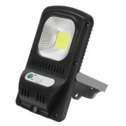 Водонепроницаемая солнечная лампа LED JX-118 120 ° 300LM (Черная)