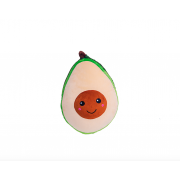 Плюшевая мягкая игрушка Авокадо 20 см (Зеленая)