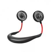 Портативный подвесной спортивный вентилятор USB (Черный)
