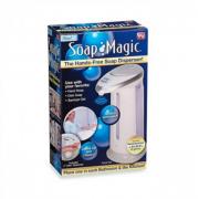 Сенсорный дозатор для жидкого мыла Soap Magic (Бело-голубой)