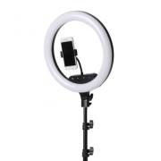 Светодиодная лампа кольцевая AL360 36см с пультом и сенсорным управлением