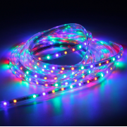Водонепроницаемая гибкая RGB светодиодная LED лента на улицу