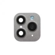 Защитная обманка для камеры Iphone X/XS/XS Max -> iPhone 11 Pro/11 Pro Max (Серебряная)