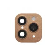 Защитная обманка для камеры Iphone X/XS/XS Max -> iPhone 11 Pro/11 Pro Max (Золотая)