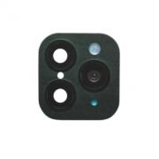 Защитная обманка для камеры Iphone X/XS/XS Max -> iPhone 11 Pro/11 Pro Max (Темно-зеленая)