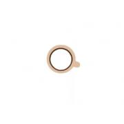 Защитное кольцо на камеру IPhone 7/8 CS7026 Coteetci (Белое-золото)