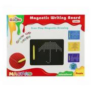Планшет «Магнитное рисование» 380 отверстий (Черный)