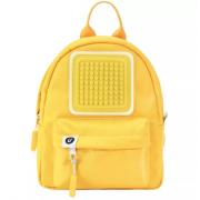 Рюкзак детский пиксельный (Желтый)