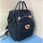 Рюкзак Fairy Bag из прочного с нашивкой (Темно-синий)