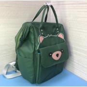 Рюкзак Fairy Bag из прочного с нашивкой (Зеленый)