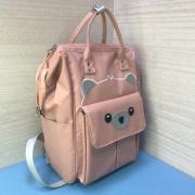 Рюкзак Fairy Bag из прочного с нашивкой (Розовый)