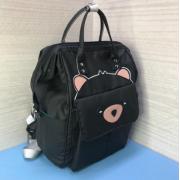 Рюкзак Fairy Bag из прочного с нашивкой (Черный)