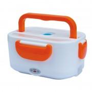 Ланч бокс с подогревом от прикуривателя контейнер для еды Car Electric Lunch Box (Оранжевый)